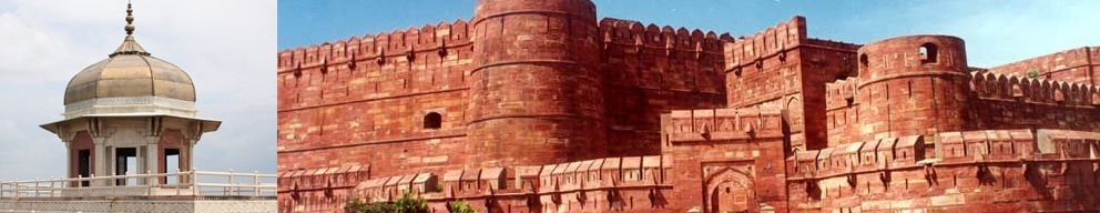 Travel to Agra Fort with Golden Triangle Group Tour India