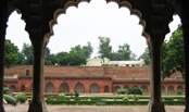 Agra Fort inside view