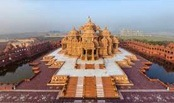 Swaminarayan temple complex in New Delhi, India