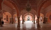 City Palace forms one of the most famous tourist attractions and a major landmark in Jaipur