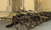 City Palace Museum Cannons Jaipur