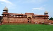The Agra Fort is a UNESCO World Heritage site located in Agra, Uttar Pradesh, India