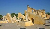 Jantar Mantar Observatory - This famous Jantar Mantar is the royal heritage of Jaipur and stands as a royal affidavit to a former epoch.