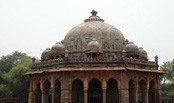 Humayun Tomb - Delhi Tourism - It was built in 1565 A.D. nine years after the death of Humayun, by his senior widow Bega Begam.