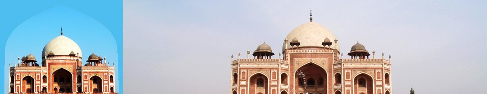 Golden Triangle Group Tour India with Humayun Tomb Delhi.