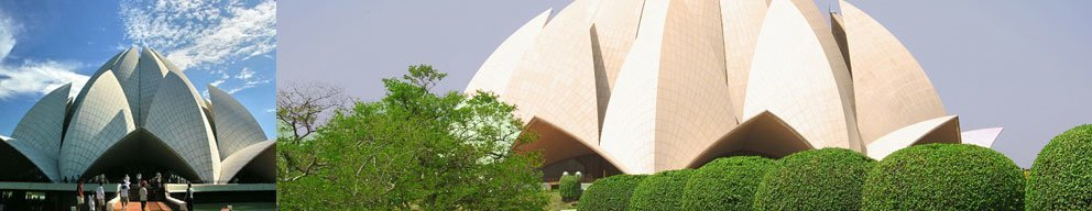 Golden Triangle Group Tour India with Lotus Temple Delhi.