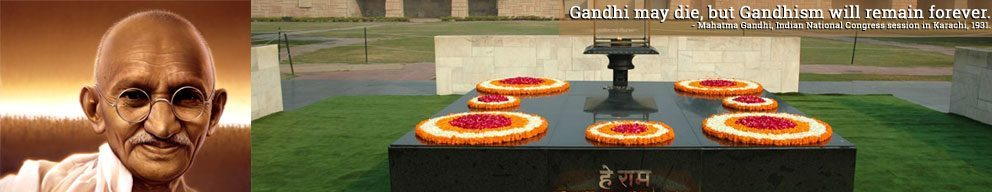 Vist Raj Ghat with Golden Triangle Group Tour India